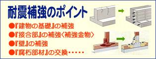 耐震補強のポイント